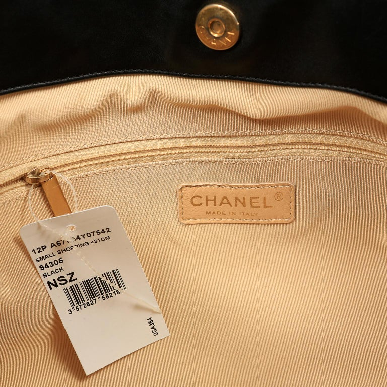 Chanel Black Leather Overnight Travel Bag- Unisex For Sale 12
