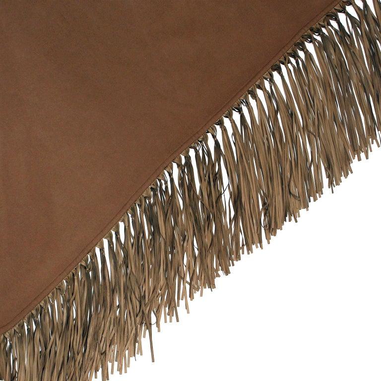 Women's Hermès Brown Cashmere XXL Shawl For Sale