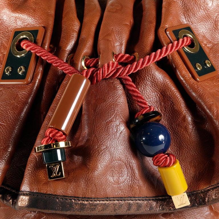 Women's Louis Vuitton Paprika Monogram Leather Kalahari GM- Limited Edition