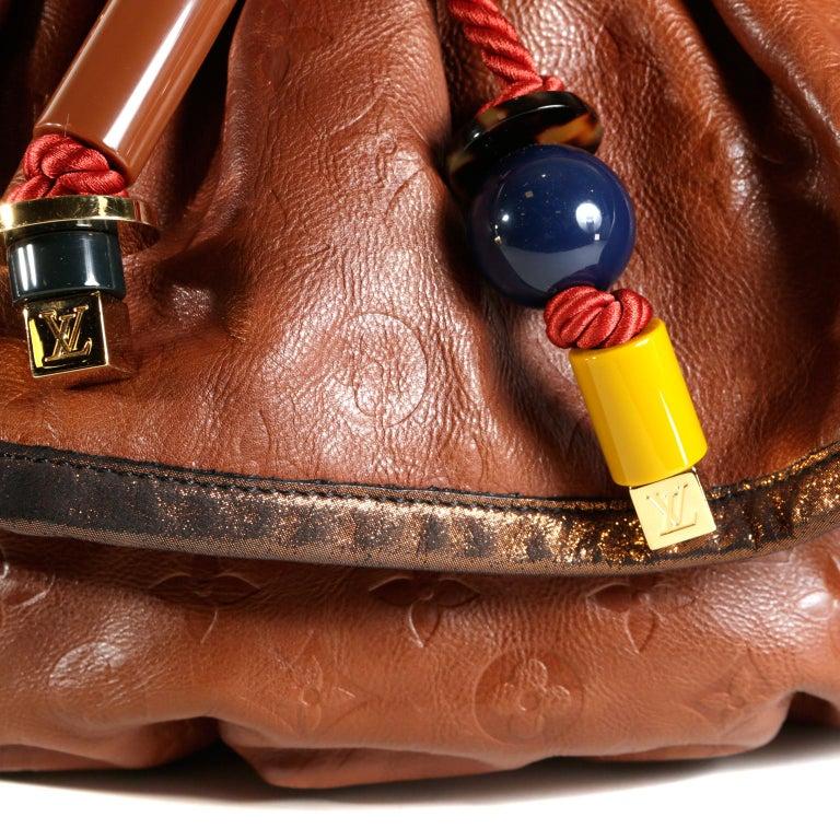 Louis Vuitton Paprika Monogram Leather Kalahari GM- Limited Edition 1