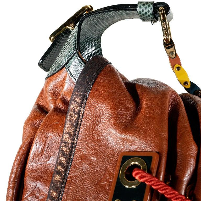 Louis Vuitton Paprika Monogram Leather Kalahari GM- Limited Edition 2