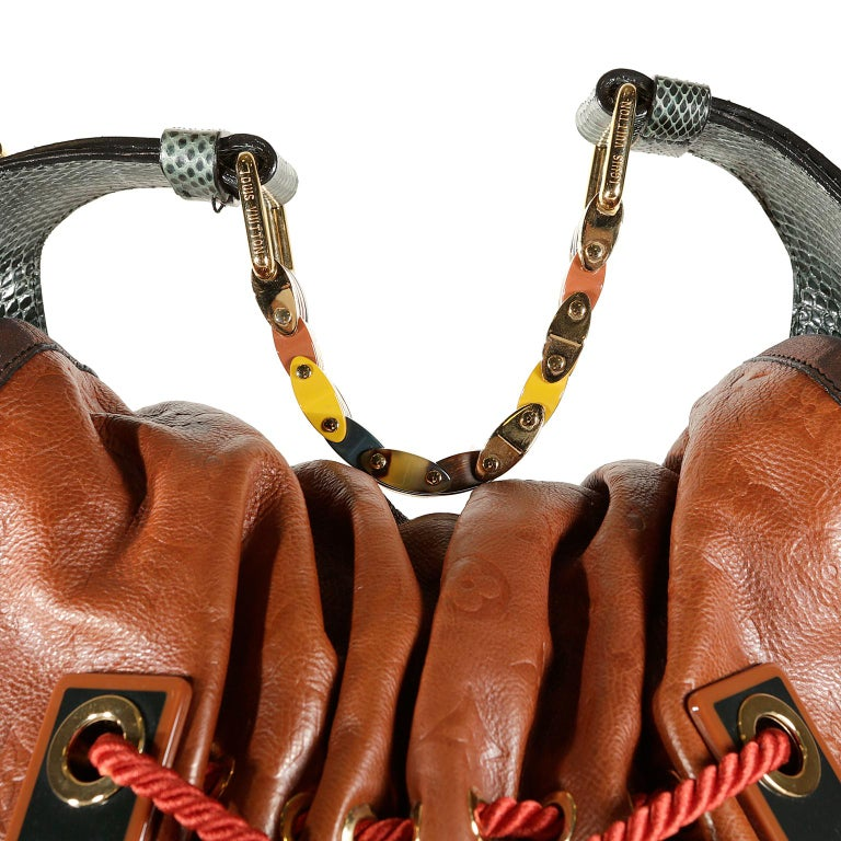 Louis Vuitton Paprika Monogram Leather Kalahari GM- Limited Edition 3