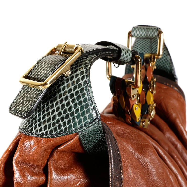 Louis Vuitton Paprika Monogram Leather Kalahari GM- Limited Edition 4