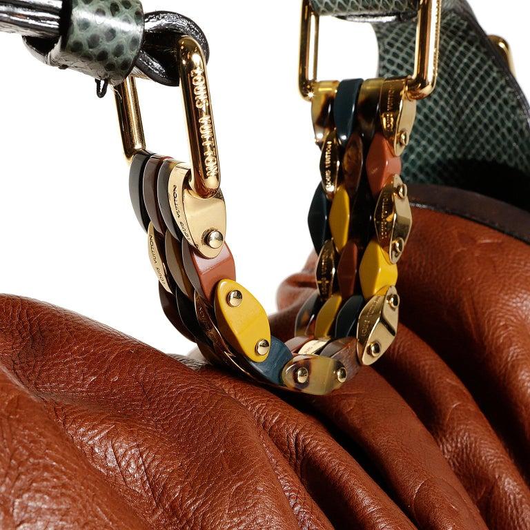 Louis Vuitton Paprika Monogram Leather Kalahari GM- Limited Edition 5
