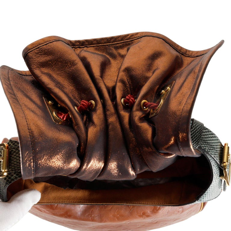 Louis Vuitton Paprika Monogram Leather Kalahari GM- Limited Edition 6