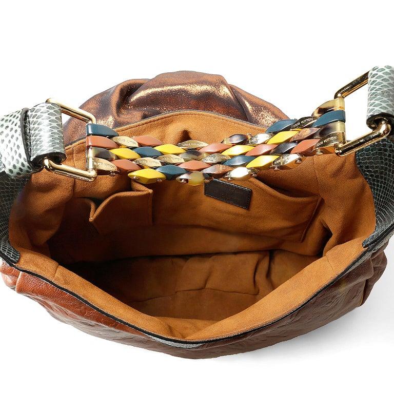 Louis Vuitton Paprika Monogram Leather Kalahari GM- Limited Edition 7