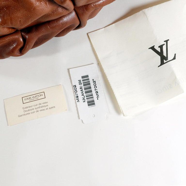 Louis Vuitton Paprika Monogram Leather Kalahari GM- Limited Edition 9