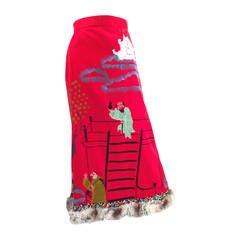 1960s Tina Leser Hand Painted Skirt