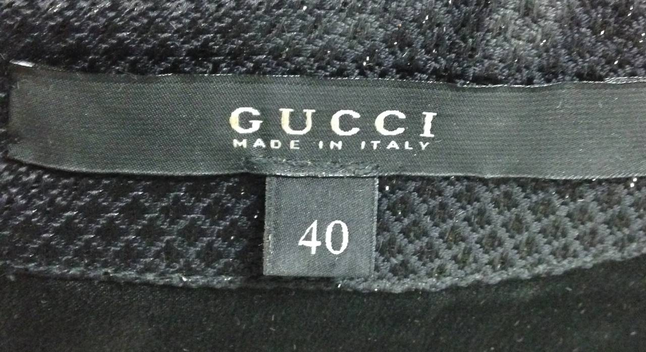 21st Century Black Studded Gucci Dress  For Sale 5
