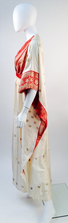 1970s Raksha Silk Kaftan 3