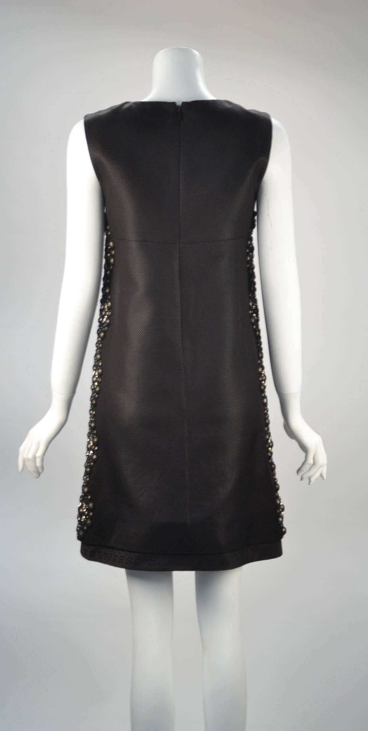 21st Century Black Studded Gucci Dress  For Sale 4