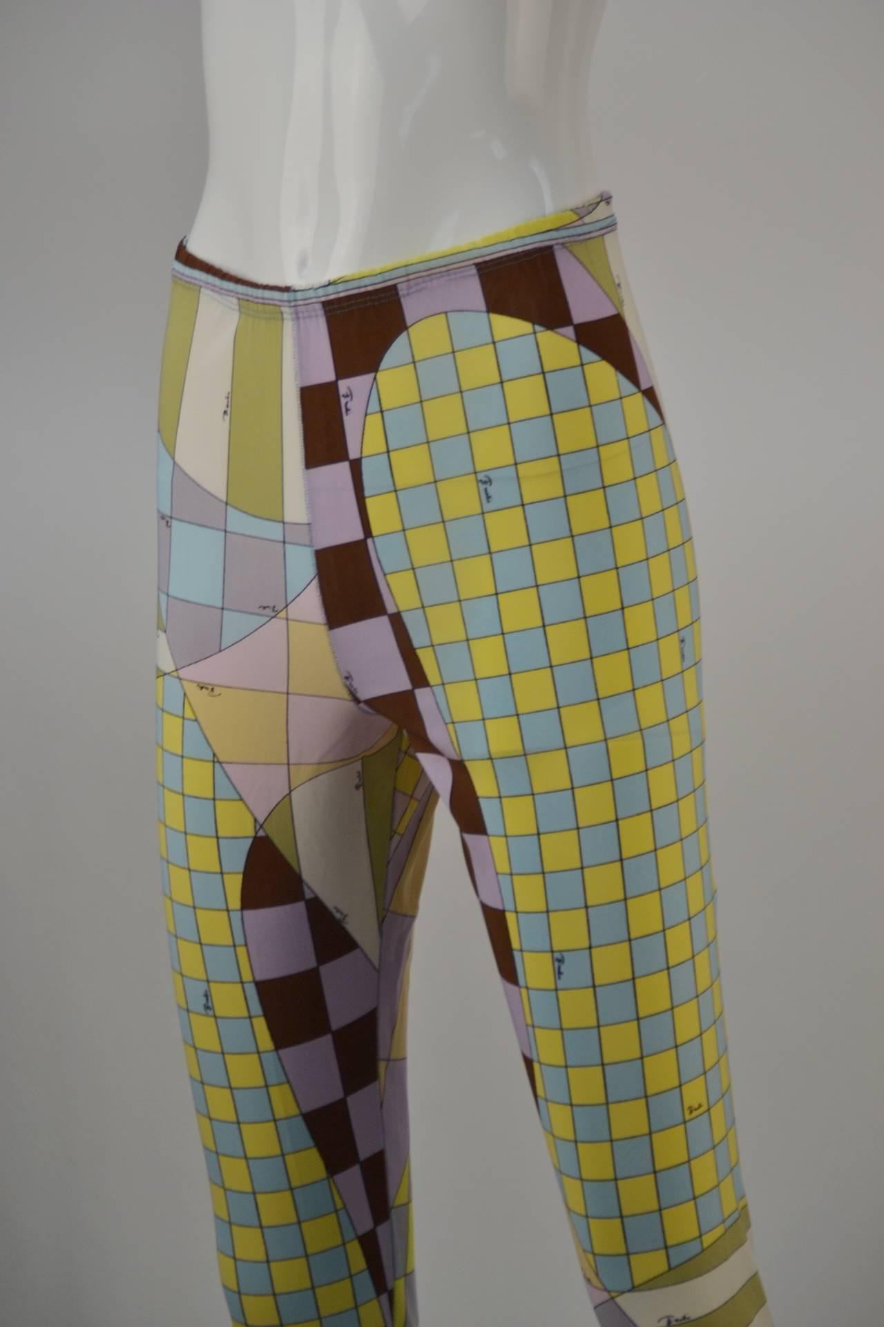 1960s Emilio Pucci for Formfit Rogers Shapewear Legging 5
