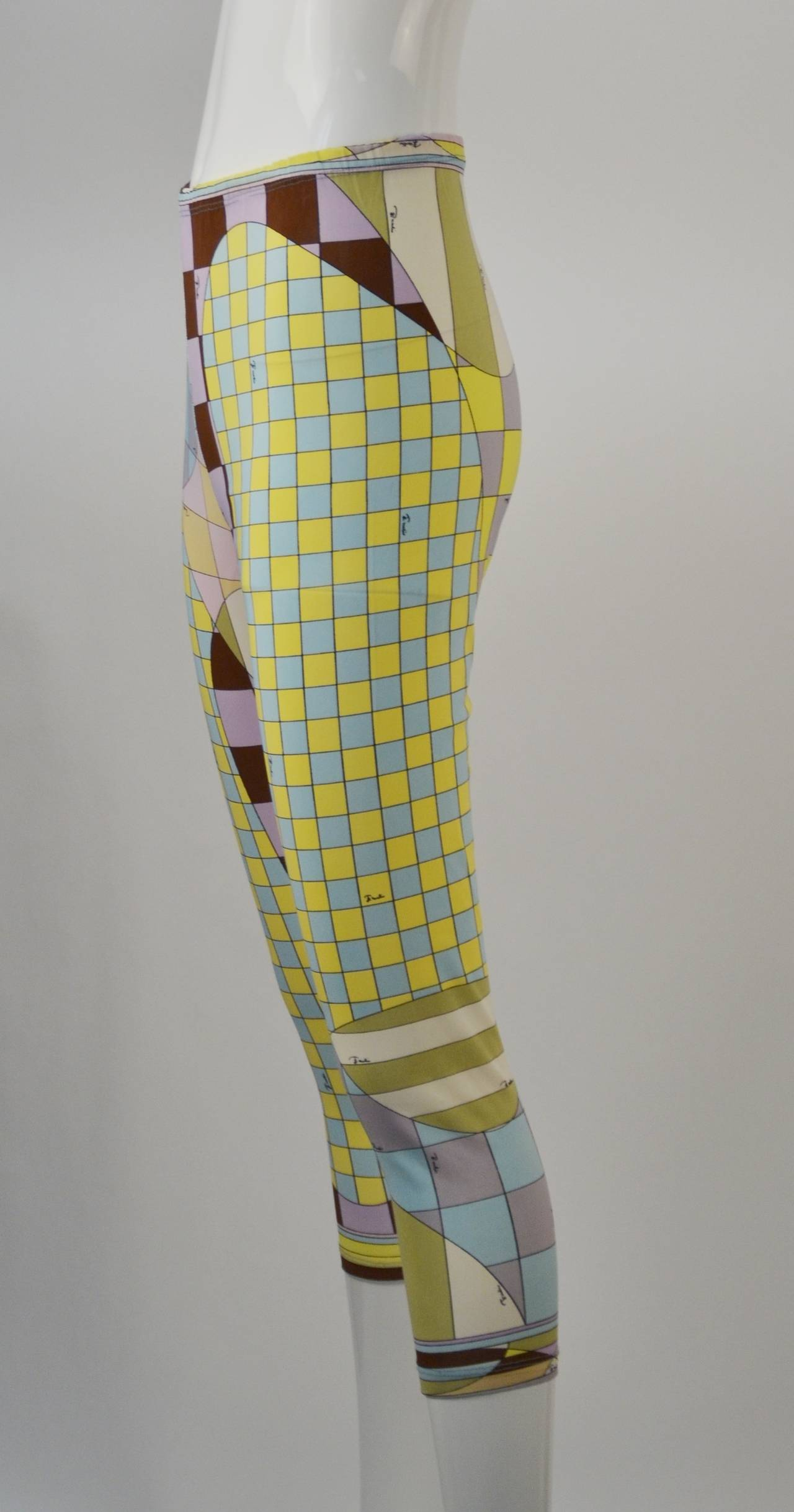 1960s Emilio Pucci for Formfit Rogers Shapewear Legging 2