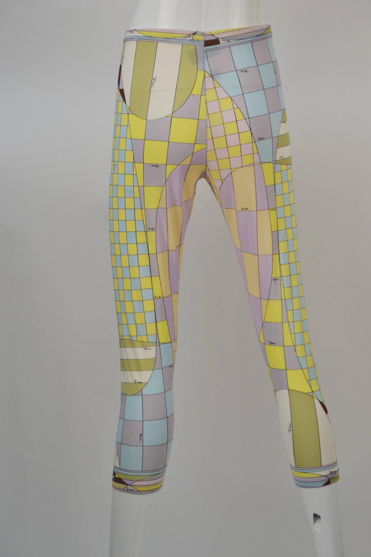 1960s Emilio Pucci for Formfit Rogers Shapewear Legging 4