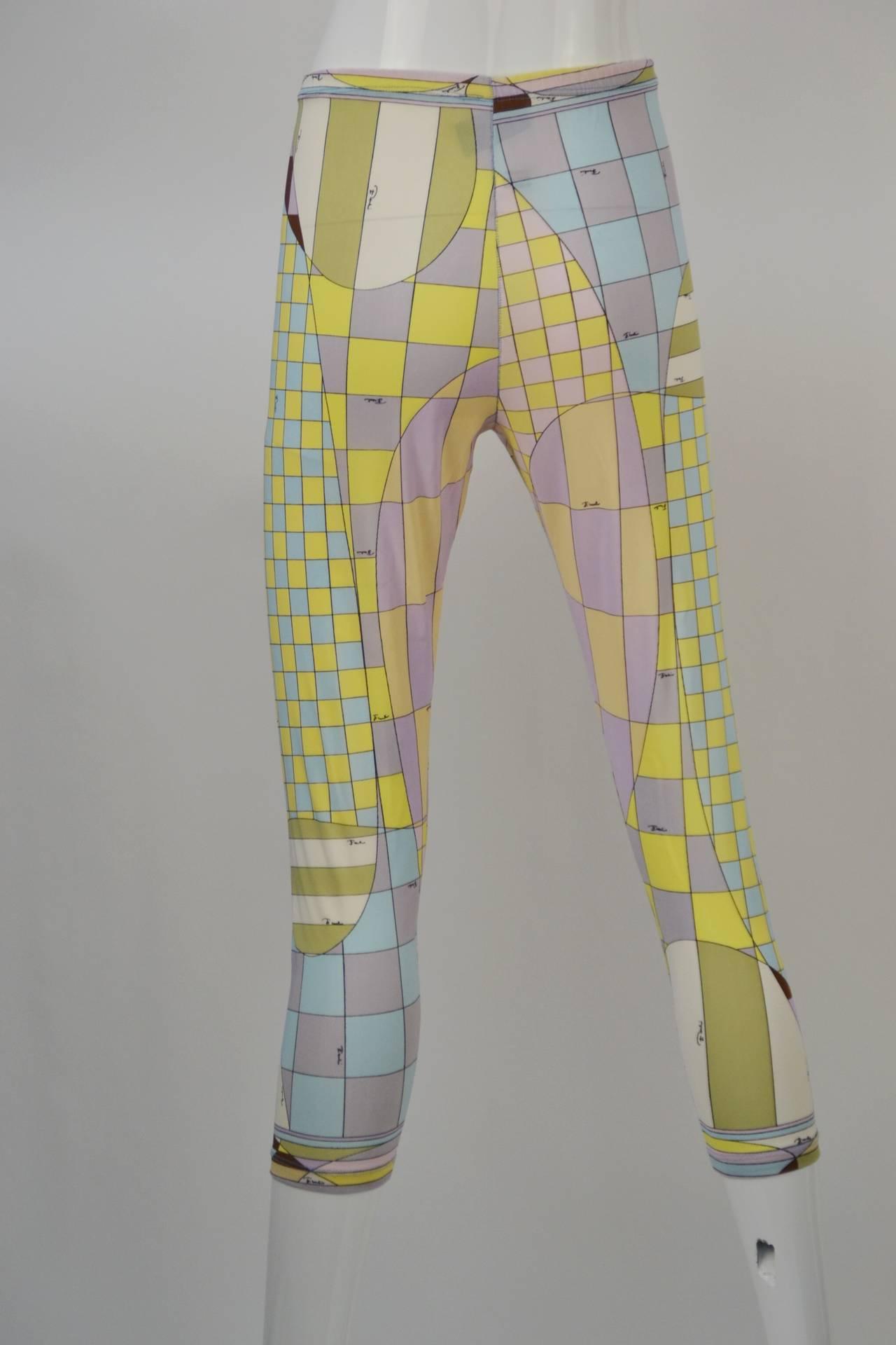 1960s Emilio Pucci for Formfit Rogers Shapewear Legging 4