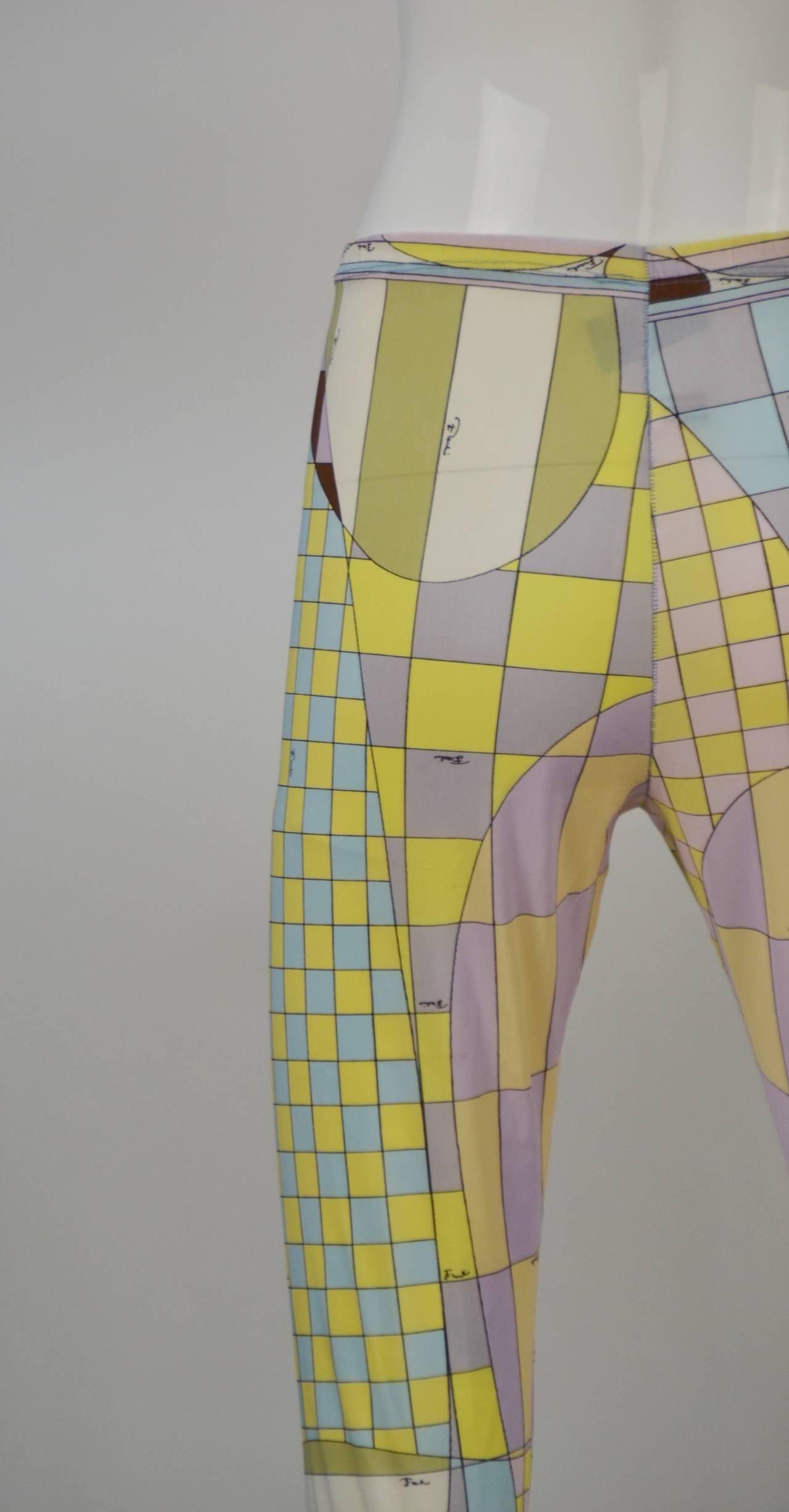 1960s Emilio Pucci for Formfit Rogers Shapewear Legging 3