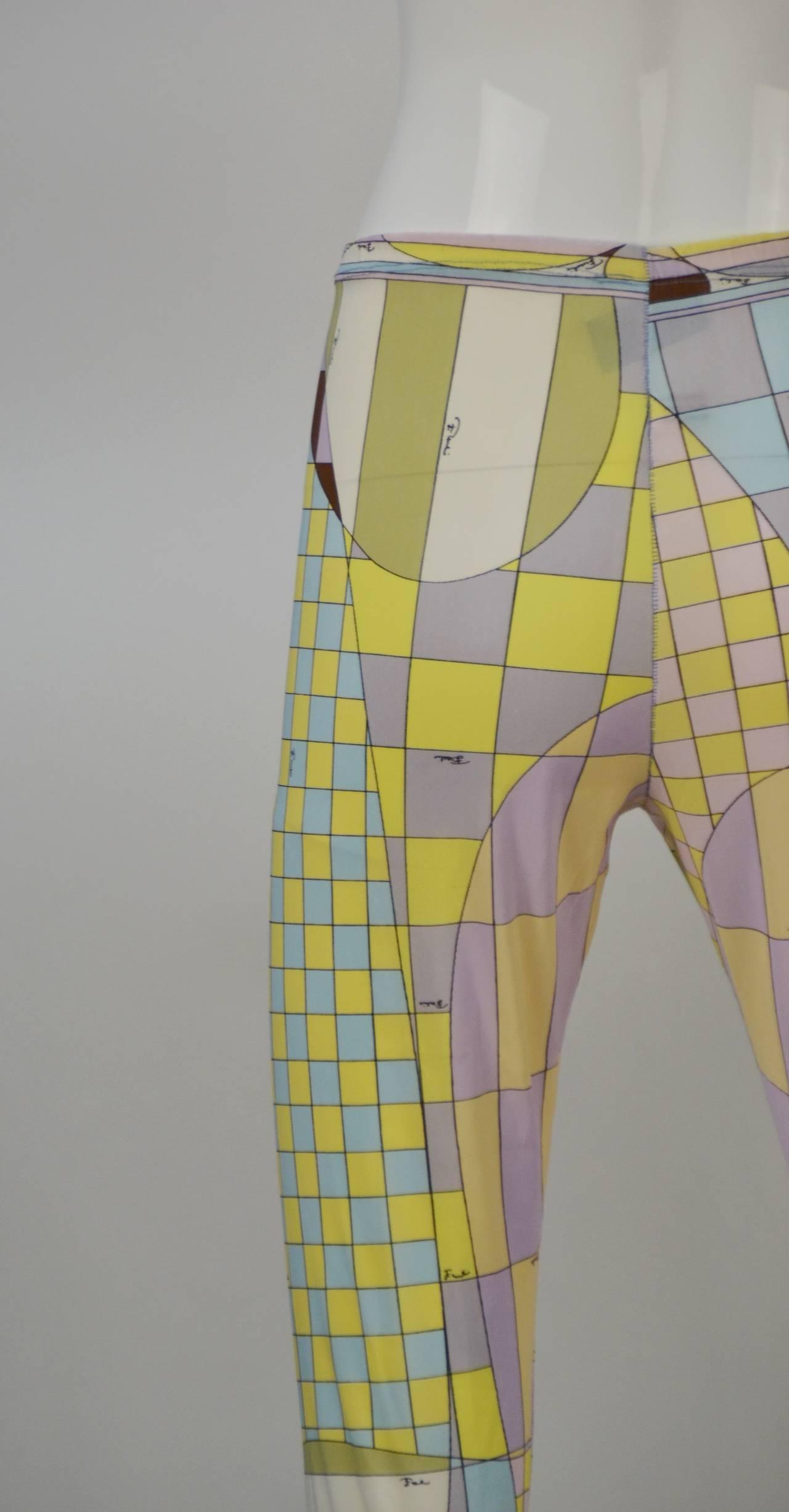 1960s Emilio Pucci for Formfit Rogers Shapewear Legging 3