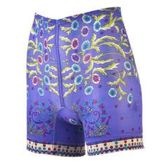 1960s Emilio Pucci for FR Purple Print Shorts
