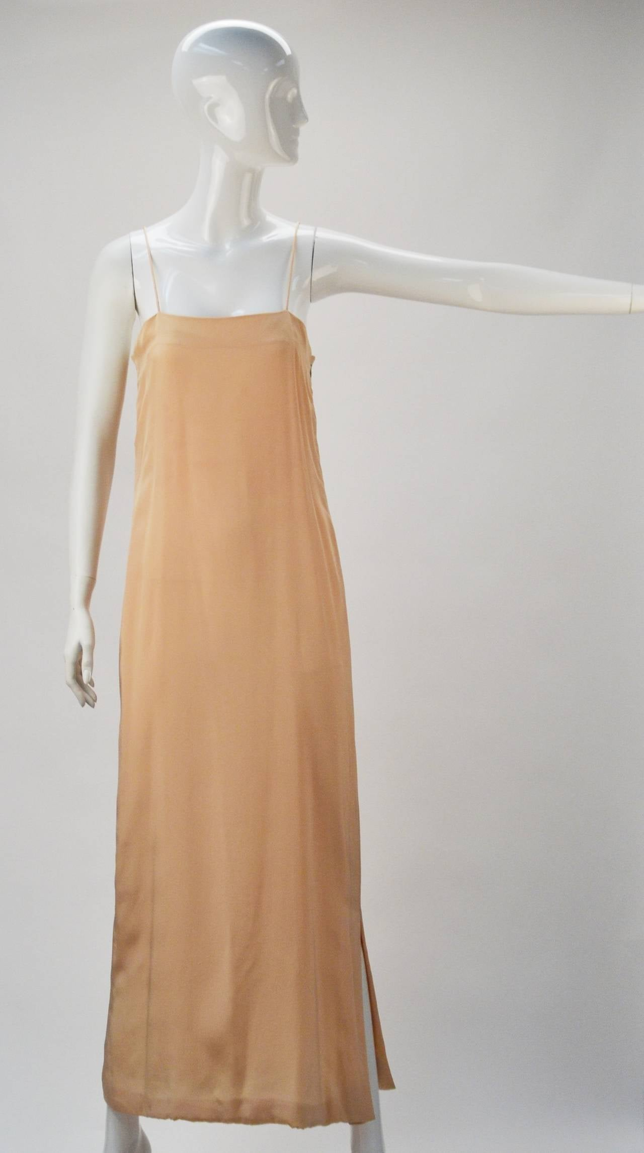 1970s Bill Blass Two Piece Silk Evening Ensemble In Good Condition For Sale In Houston, TX