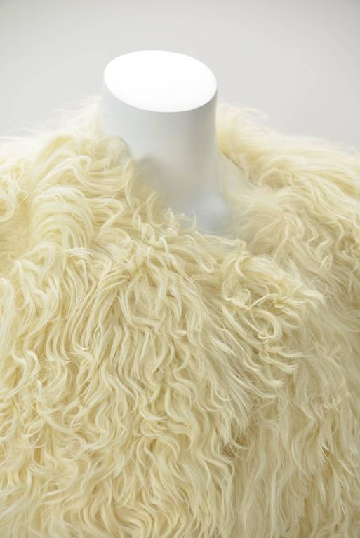 Women's or Men's  Courreges Paris Natural Ombre Karakul Bolero For Sale