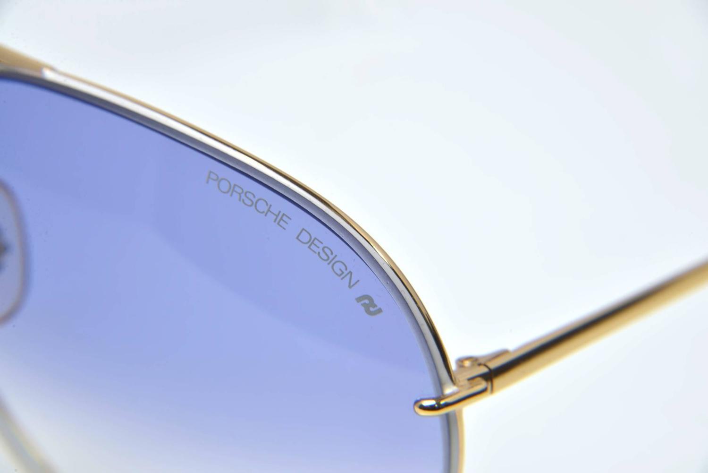 1980s Porsche By Carrera 5621 Aviator Sunglasses With Case
