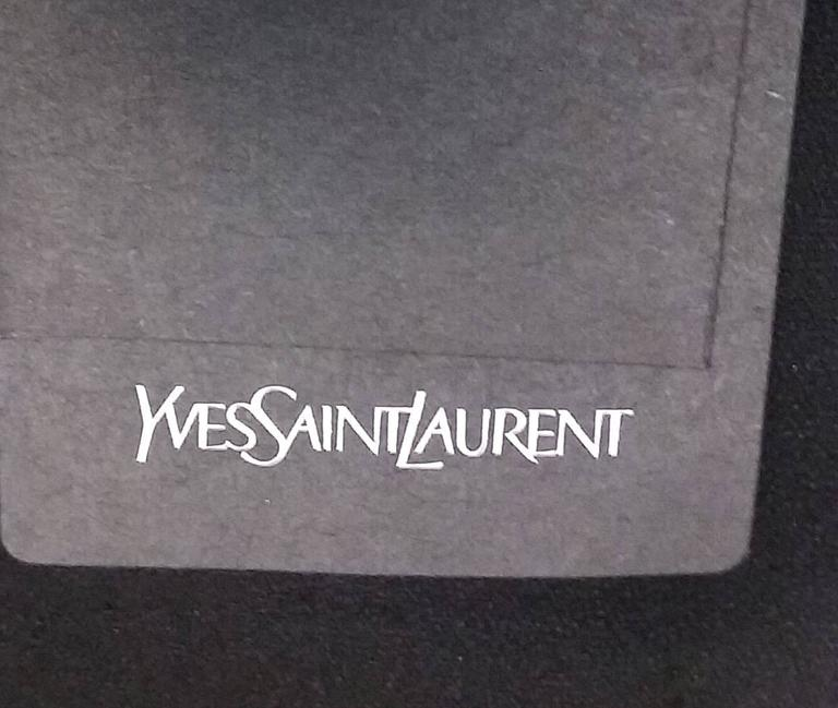 NWT 2014 Yves Saint Laurent Black Jumpsuit  6