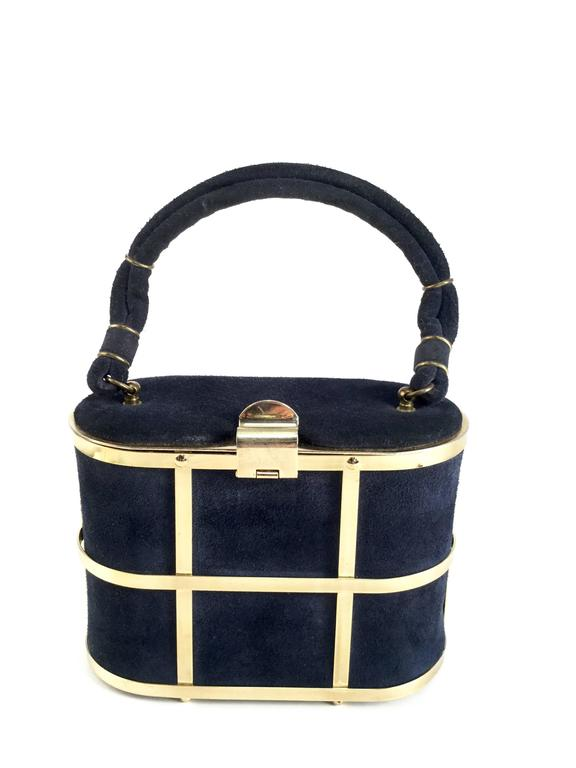 Absolutely Charming Cage Box Purse By Etra Handbags The Body Of This Is Composed