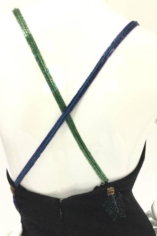 Fantastic 1980s Bob Mackie Arrows of Love Mini Dress For Sale 1