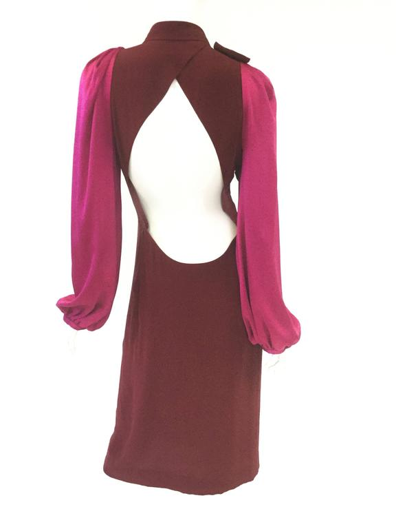 21st century sonia rykiel backless silk dress for sale at for Century 21 dress shirts
