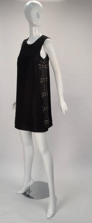 21st Century Black Studded Gucci Dress  For Sale 6