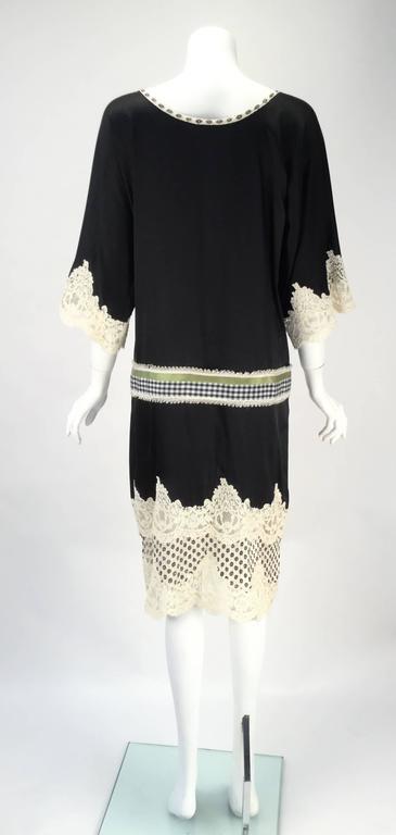 Geoffrey Beene Kimono Sleeve Shift Dress For Sale 1