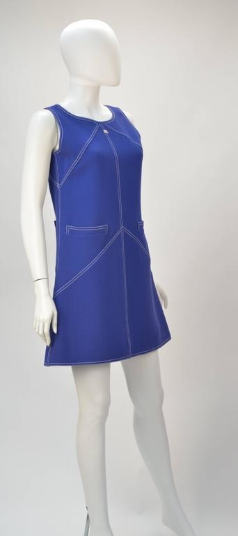 1960s Courreges Wool Ensemble, Euro Size 38 3