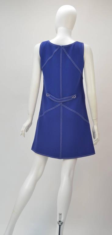 1960s Courreges Wool Ensemble, Euro Size 38 4