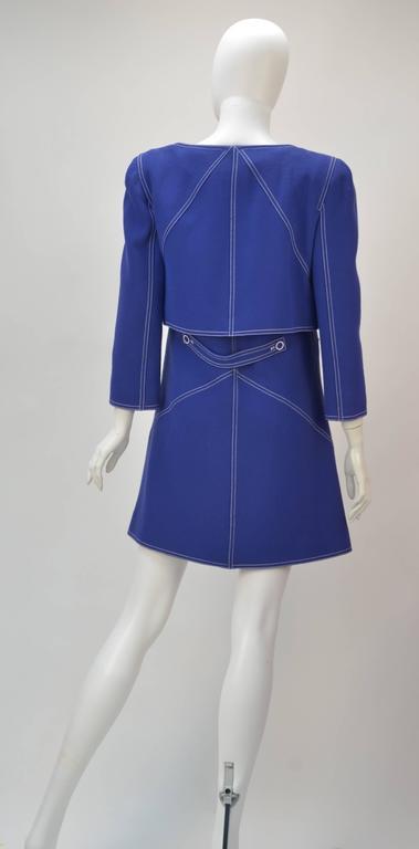1960s Courreges Wool Ensemble, Euro Size 38 6