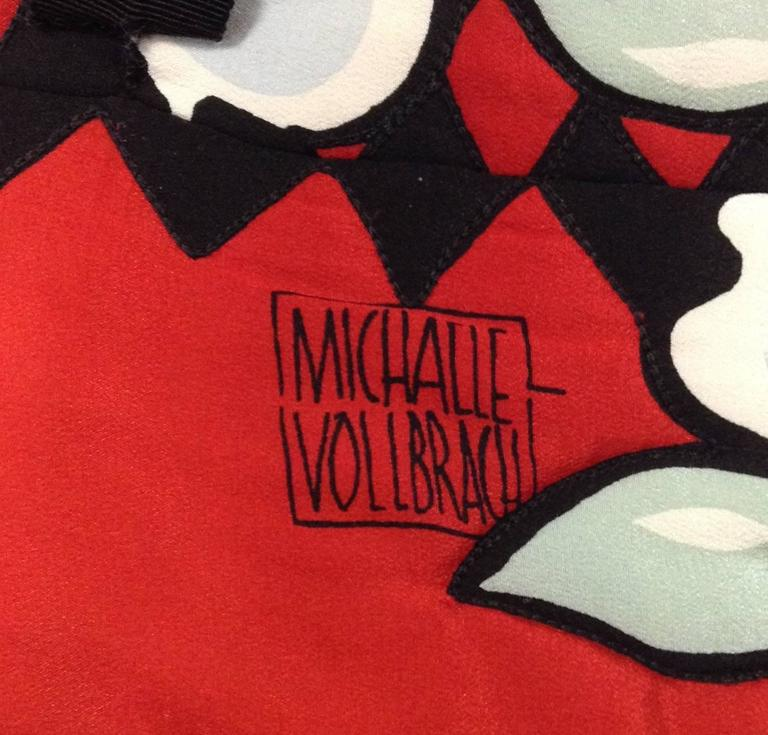 Michaele Vollbracht Quilted Silk Kimono/Jacket, 1980s   5