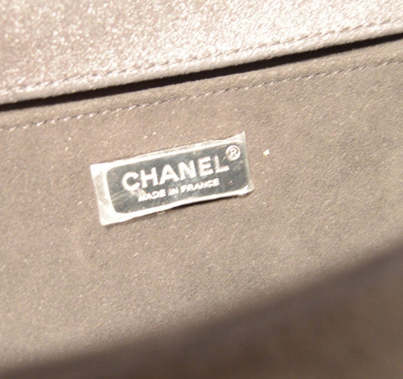 Chanel Sequin Black Patent Leather Classic Flap Boy Bag 7