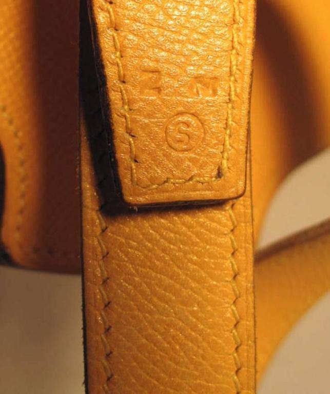 Hermes Rare Vintage Feedbag Shoulder Style Production Sample 3