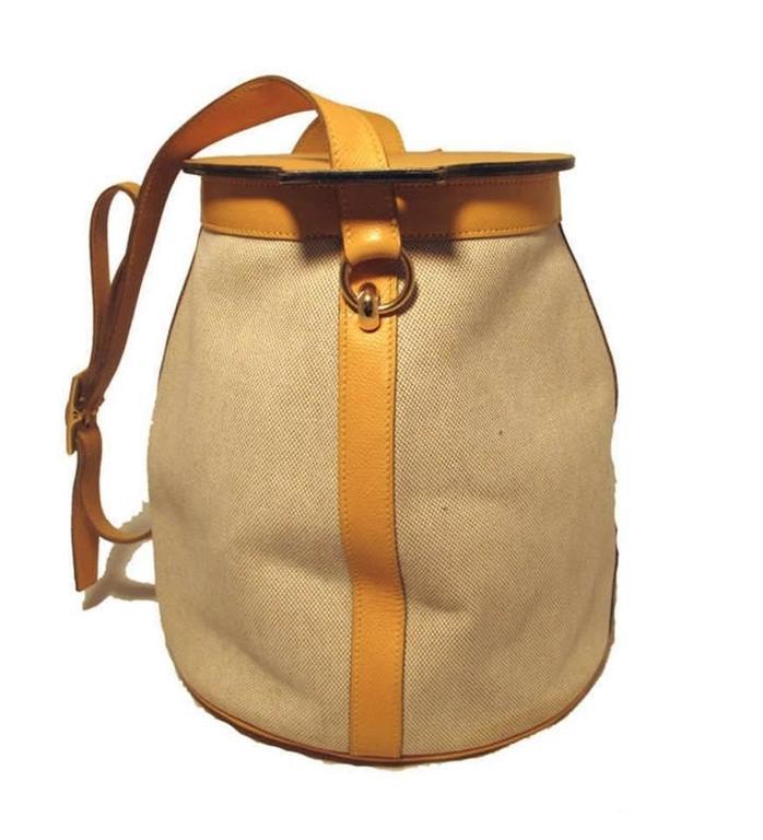 Hermes Rare Vintage Feedbag Shoulder Style Production Sample 6