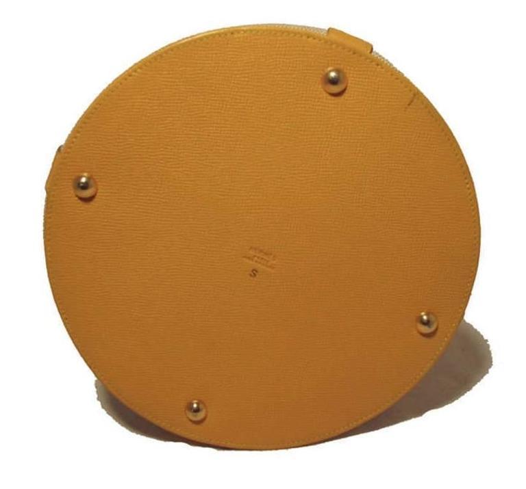 Hermes Rare Vintage Feedbag Shoulder Style Production Sample 7