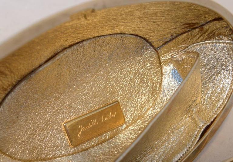 Judith Leiber Gold Swarovski Crystal Sitting Duck Minaudiere For Sale 2