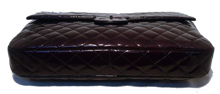 Chanel Quilted Patent Leather Reissue Classic Flap Bag In Excellent Condition For Sale In Philadelphia, PA