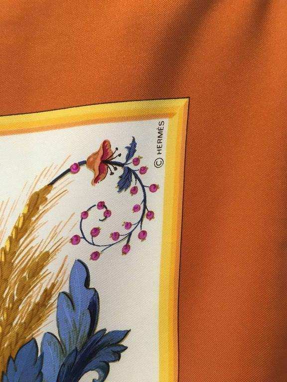 Hermes Vintage Cerés Silk Scarf c1960s For Sale 2