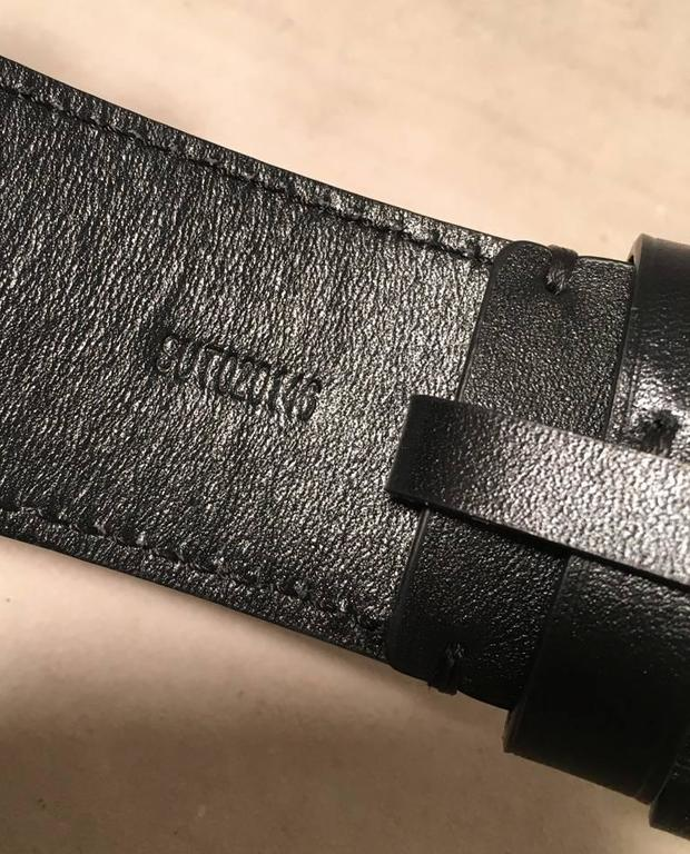 Goyard Black Canvas Monogram 100cm Belt 4