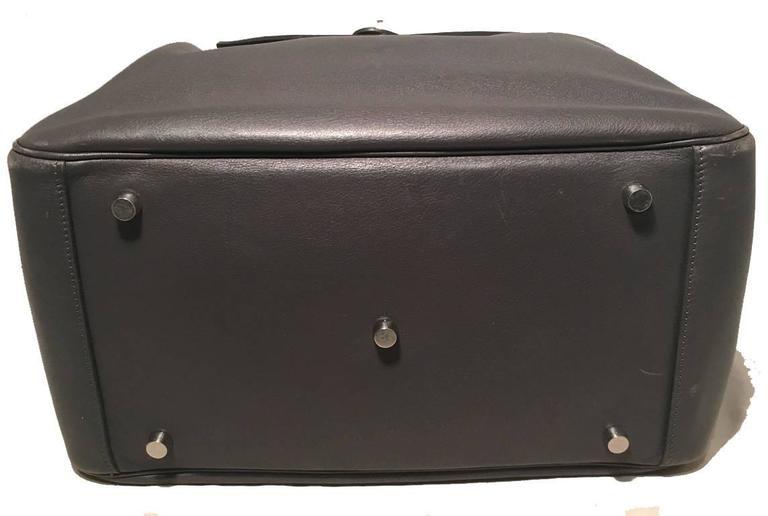 Hermes Grey Swift Leather Lindy Bag 1