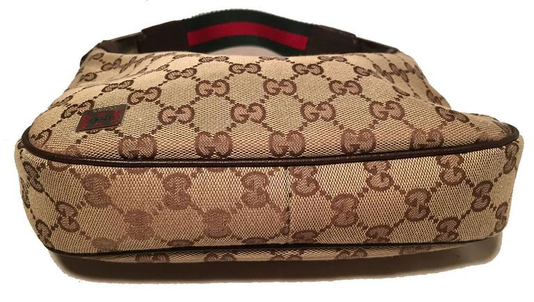 RARE Gucci Monogram Canvas Mini Handbag 4