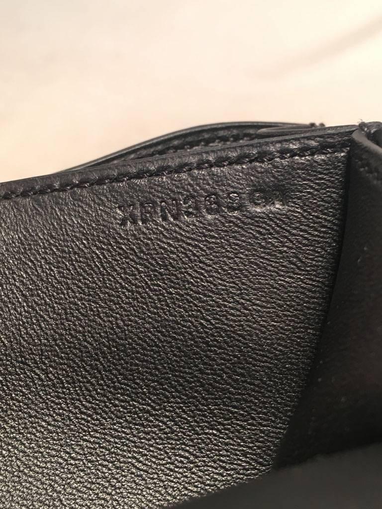 Hermes 18cm Mini Black Box Calf Constance Shoulder Bag For Sale 5