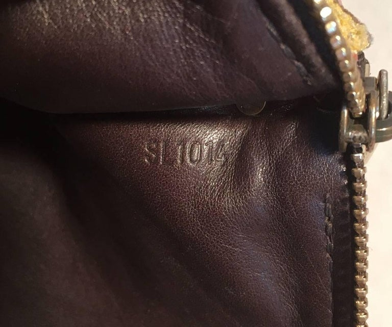 Limited Edition LOUIS VUITTON Monogram Velvet Trompe L oeil Pochette For Sale 4
