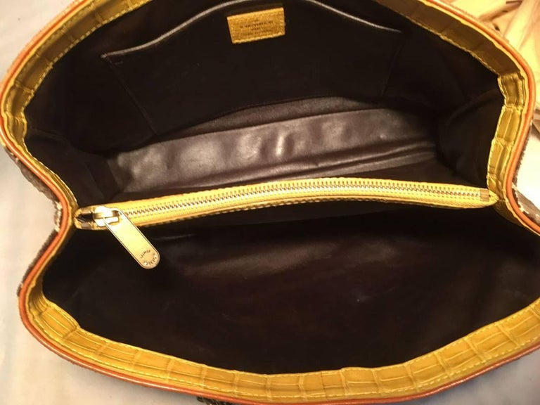 Louis Vuitton Limited Edition Trompe L'oeil Le Fabuleux Velvet Shoulder Bag For Sale 1