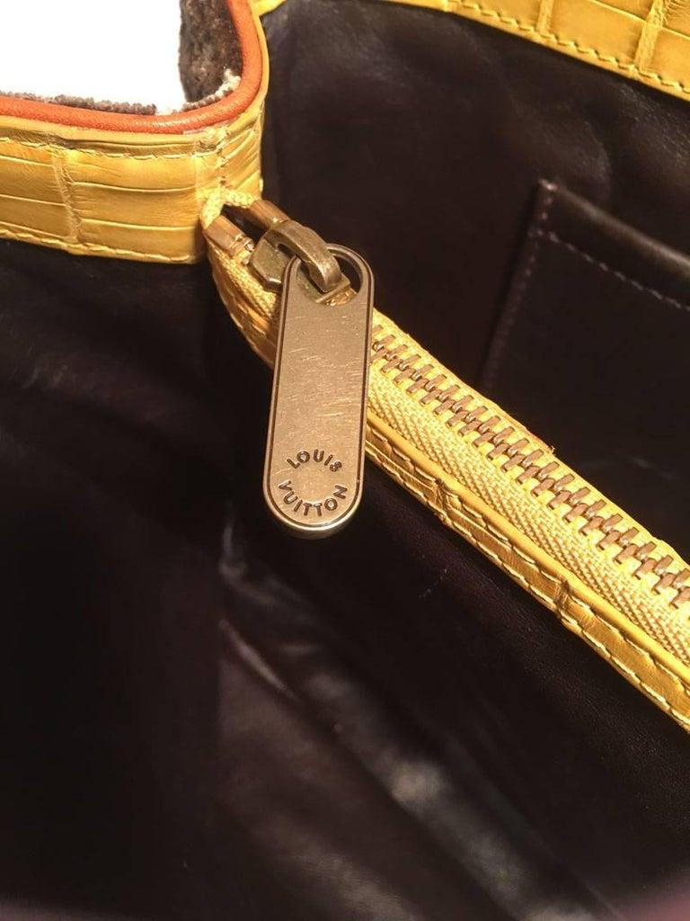 Louis Vuitton Limited Edition Trompe L'oeil Le Fabuleux Velvet Shoulder Bag For Sale 4