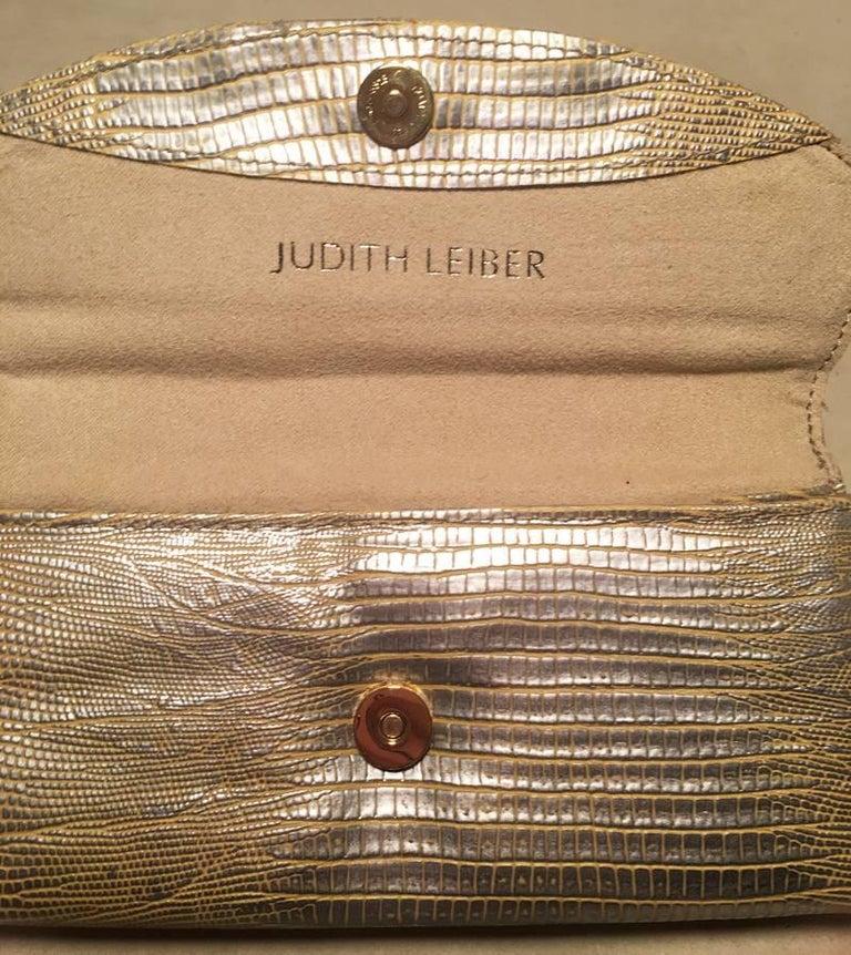 Judith Leiber Lizard Crystal Sunglass Ccase For Sale 1